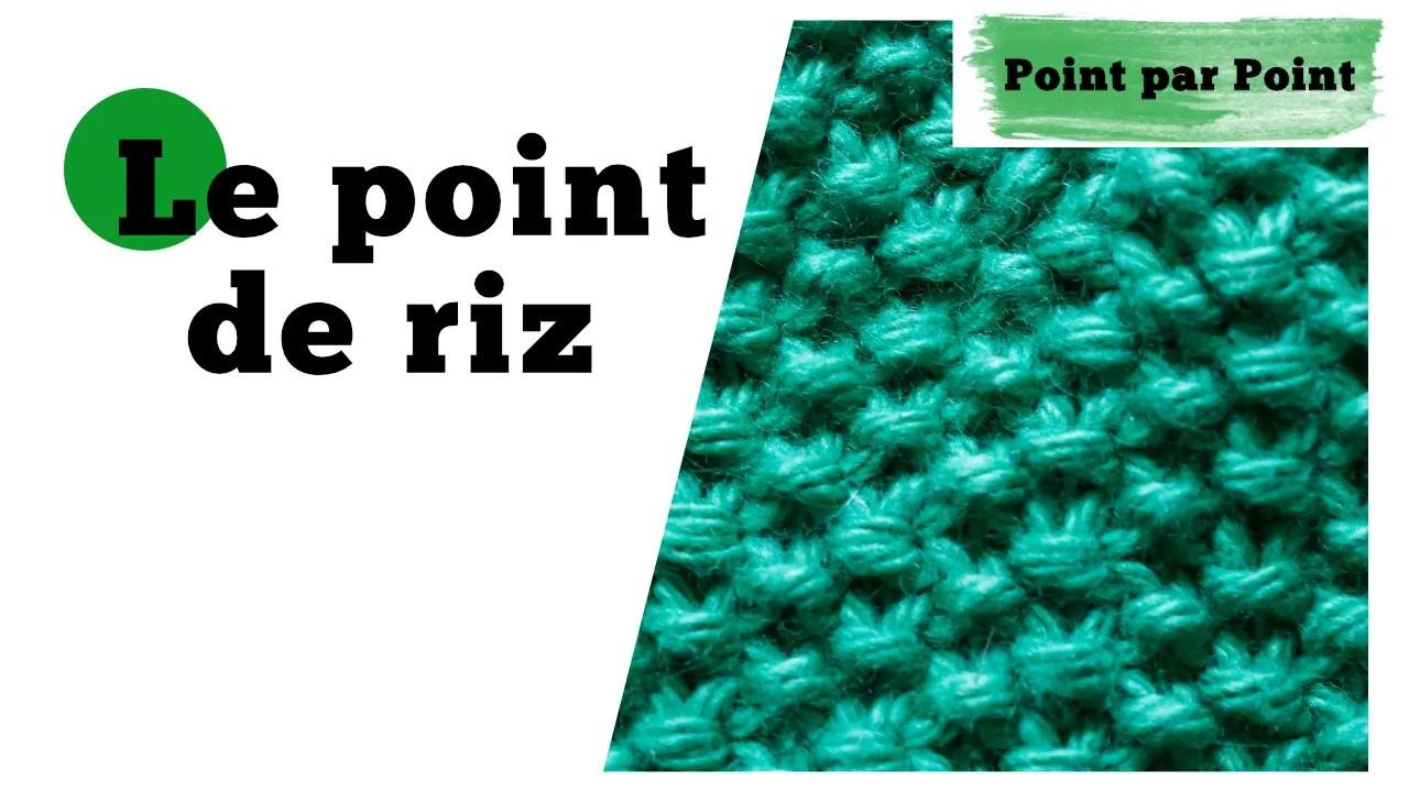 Read more about the article Point par Point – Point de riz (Tricot a plat et circulaire)