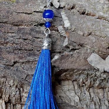 Marqueur bleu calcédoine