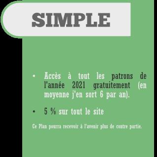 Abonnement Simple